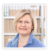 Renate Bredthauer - accounting for JEGAB DISPLAY GmbH